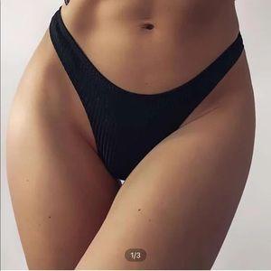 Shein high cut bikini bottom